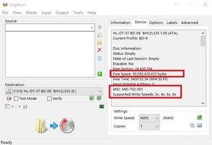 Image 5 - RIDATA/Ritek 50แพ็ค/กล่องA + คุณภาพเปล่าอิงค์เจ็ทพิมพ์Blu Ray DL 2 8x Dual Layer 50GB BD DL Disc