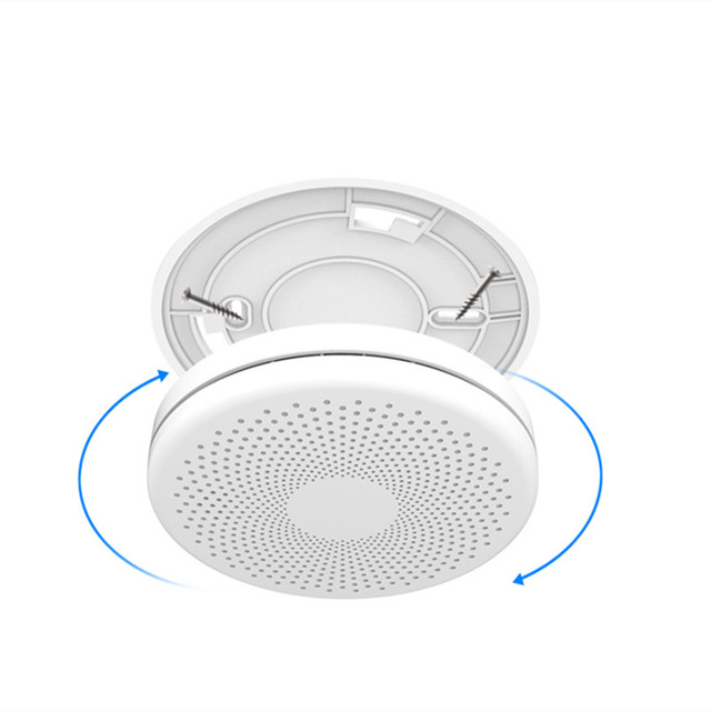 Tuya WIFI Carbon Monoxide Smoke Detector CO Gas Fire Alarm 2 in 1 Sensor Home Security Protection Battery Not Included 5