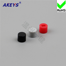 30PCS A28 key cap 6X5 self-locking hat switch self-locking 8 * 8 / red and black gray with 7 * 7/8 * 8/8 .5 * 8. цены онлайн