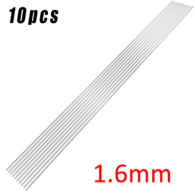 10 PCS Welding Rods 1.2mm / 1.6mm / 2.4mm 316L Stainless Steel TIG Welding Rods 330mm Long With High Quality Multitool