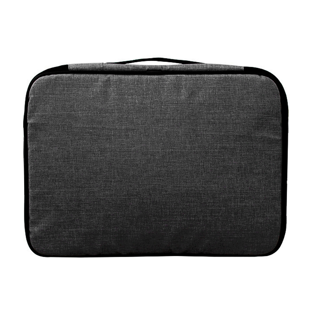 Document Storage Bag Large Capacity File Organizer Home Card Pocket With Lock Credentials Portable Oxford Cloth Zipper Papers