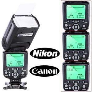 Image 3 - Flash TRIOPO TR 988 Flash professionnel Speedlite TTL avec synchronisation haute vitesse pour appareil photo reflex numérique Canon Nikon PK YN560IV