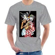 Maglietta a maniche corte da uomo Sullen Free Bird Black Clothing Tattoo 420 Tees regalo di compleanno Tee Shirt @ 040172