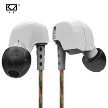 KZ HD9 Earphone HiFi Sport Earbuds Copper Driver Earhook Ear Type Headphones In Running Headsets For With Microphone