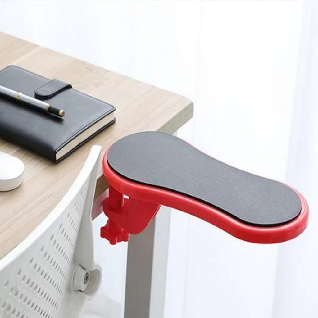 Attachable Armrest Pad Desk Computer Table Arm Support Mouse Pads Arm Wrist Rests Chair Extender Hand Shoulder Protect Pad #LR3