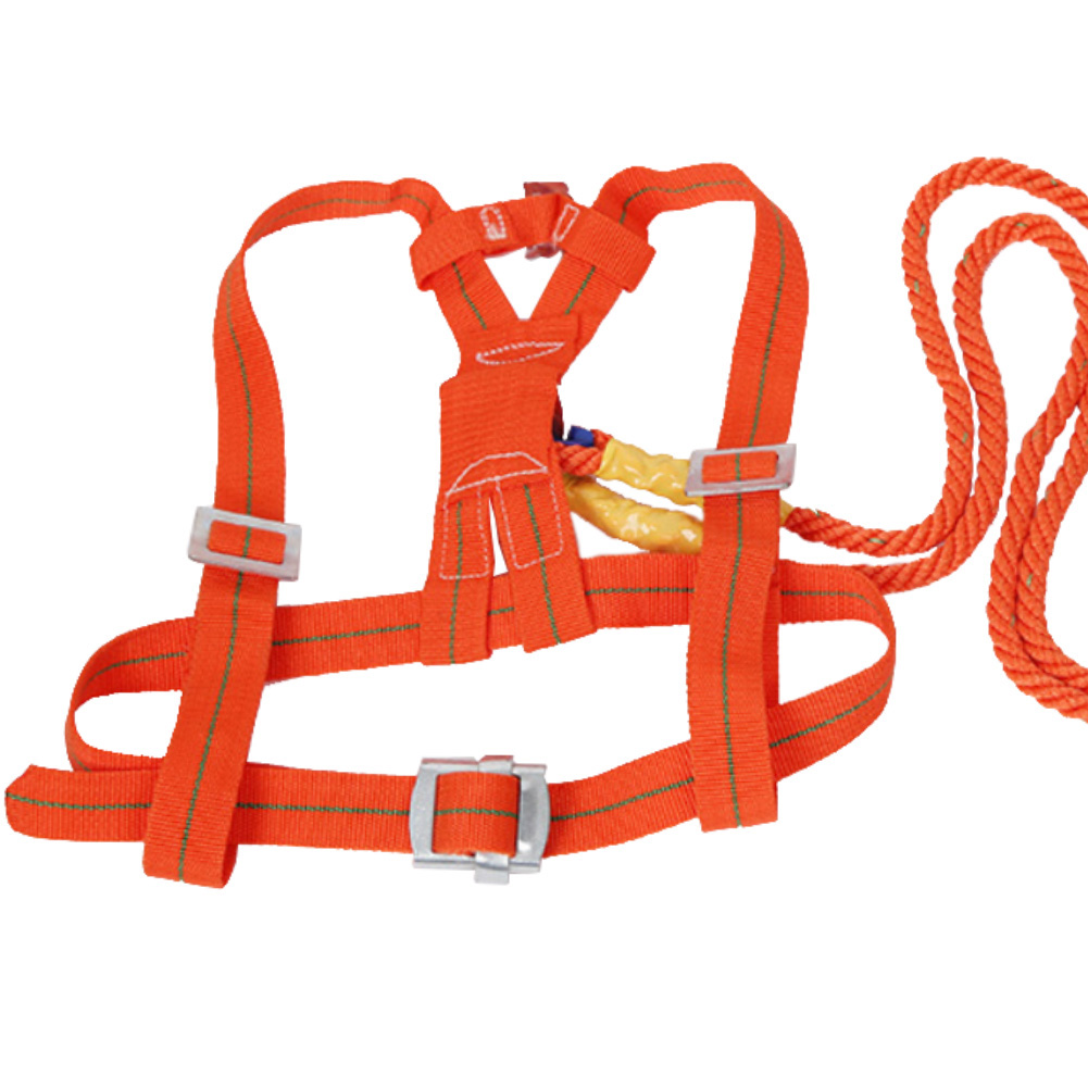 Polyamide Alloy Full Body Safety Work Harness Fall Arrest Protective Rope Chain 2019NEW