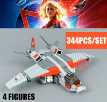 New Superheroes The Skrull Attack Captain Fit Legoings Avengers Marvel Endgame Building Blocks Bricks Toys Christmas Birthday