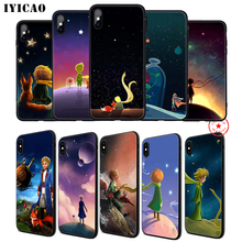 IYICAO The Little Prince Soft Phone Case for iPhone 11 Pro XR X XS Max 6 6S 7 8 Plus 5 5S SE Silicone TPU 7 Plus iyicao airplane red space soft phone case for iphone 11 pro xr x xs max 6 6s 7 8 plus 5 5s se silicone tpu 7 plus