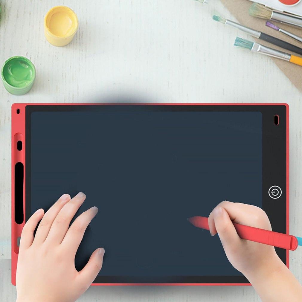 JI tableta de escritura LCD DE 8 5 pulgadas tableta de dibujo Digitale Almohadillas de escritura a Mano tableta tipo pizarra elektr/ónica port/átil-rot