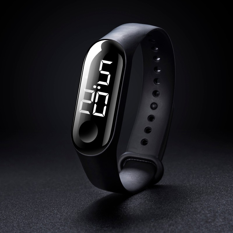 LED Electronic Sports Luminous Sensor Watches Fashion Men and Women Watches Dress Watch digital Watch Digital Lovers' Watch