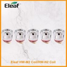 5 pçs original eleaf HW M2 bobina/HW N2 bobina 0.2ohm substituição para eleaf ijust 21700 com o cigarro eletrônico de ello duro