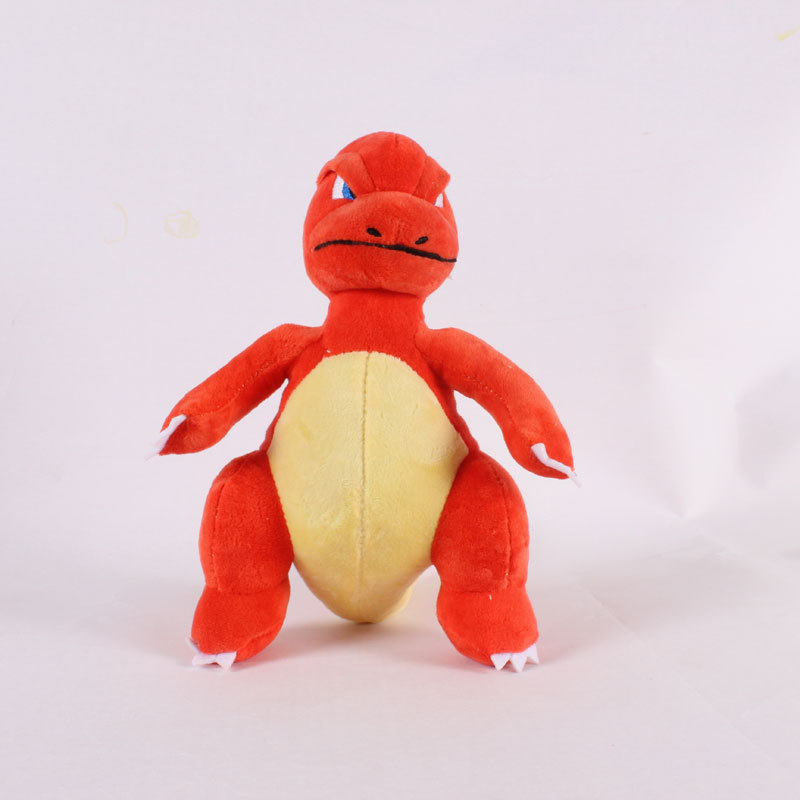 1pcs 23cm Kawaii Cartoon 23cm Charmeleon Plush Toys Doll Charmeleon Pendant Soft Stuffed Peluches Toys Gifts For Kids