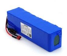 LiitoKala Batería de alta potencia para vehículo eléctrico, 48V, 6ah, 13s3p, 18650, bricolaje, 48v, protección BMS