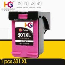 1 pçs remanufaturados para cartucho de toner hp 301 xl 301xl cartuchos de tinta para hp envy 5530 deskjet 2050 2540 2510 1000 1050 impressora