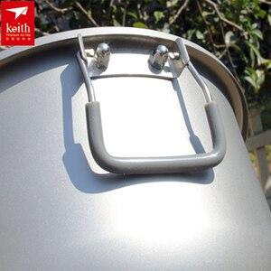 Image 5 - Титановый кастрюль для супа объемом 6 л, Нетоксичная кухонная утварь для приготовления пищи, кемпинга, походов, охоты, пикника, 1 шт.