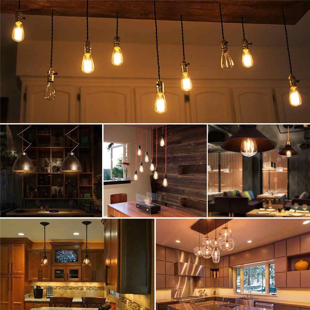 E27 Edison ampoule à intensité variable ampoule blanc chaud LED Vintage décoratif ampoule AC 110 V/220 V 4W Indoorr éclairage de nuit
