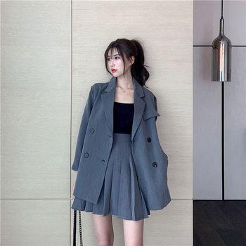 Womens Fashion Elegant Skirt-Suits