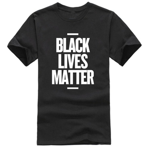 Black Lives Matter Men's T Shirt BLM Tee Tops Activist Movement Clothing Casual Cotton Short Sleeve