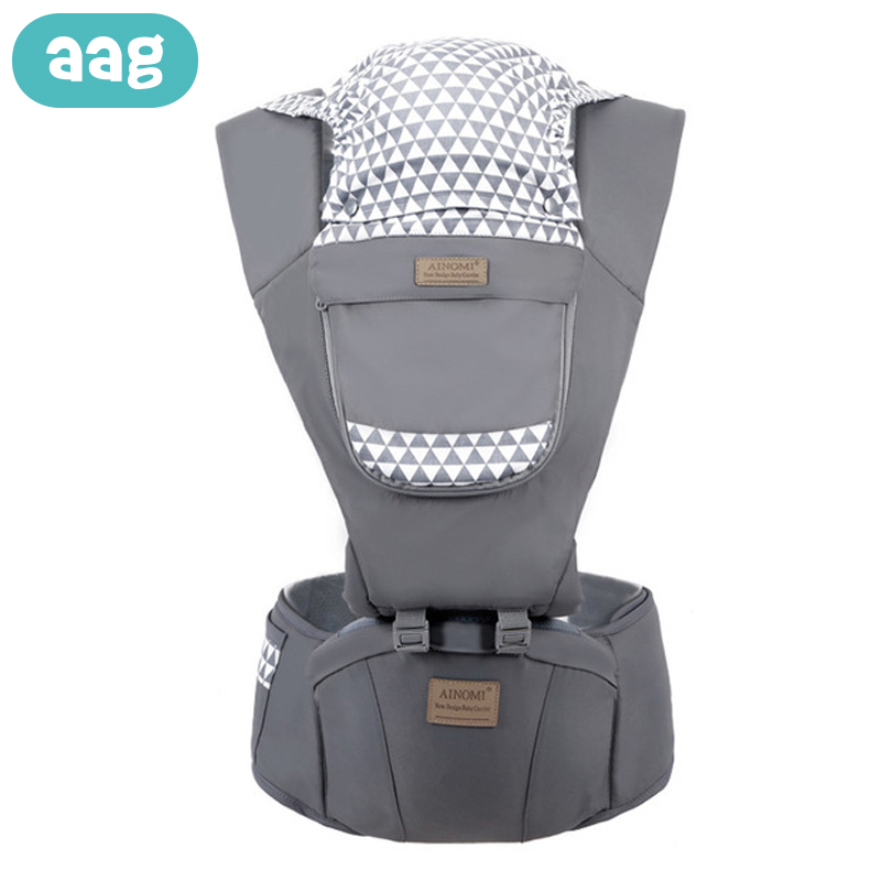 AAG Ergonomic Baby Carrier Backpack With Hipseat Newborn Wrap Waist Stool Infant Hip Seat Kangaroo Sitter Baby Carrier Sling