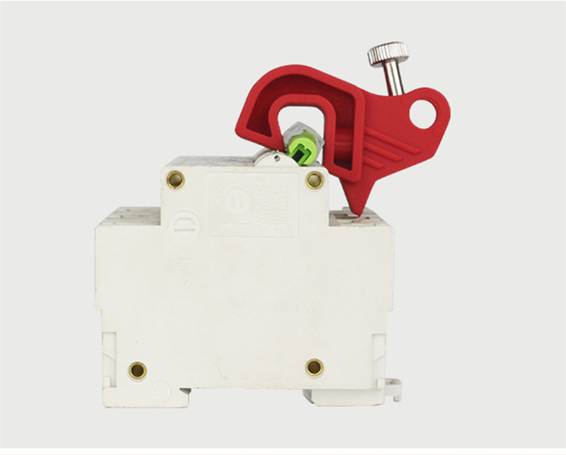 MCB Circuit Breaker Lockout Lock Off Isolation Device for Circuit Boards.Pin in
