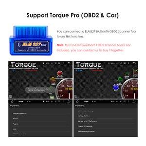 Image 5 - Android 9 2Din Auto Autoradio DVD GPS unità di Testa per Mercedes Benz B200 B Classe W169 W245 Viano Vito w639 Sprinter W906 Bluetooth