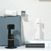 Supporto per telefono treppiede con tracciamento del viso rotante a 360 gradi Vlog registrazione Video PTZ per foto stabilizzatore portatile per Smartphone Vlog AI