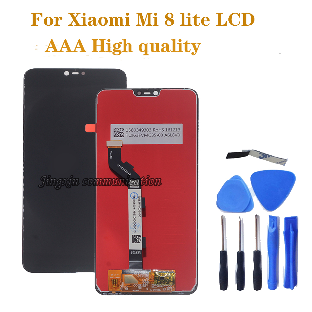 """6.26"""" LCD For Xiaomi Mi 8 Lite Mi 8X LCD display Touch Screen digitizer Assembly for Xiaomi mi8 lite LCD Repair Parts-in Mobile Phone LCD Screens from Cellphones & Telecommunications"""