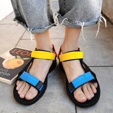 Outdoor Sandals Water-Shoes Lightweight Beach-Sport Summer Cheap Quick-Drying Big-Size