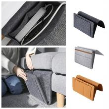 Storage-Organizer with T5S2 Hanging Mobile-Pockets Sundries-Control Bedside Inner-Remote-Phone