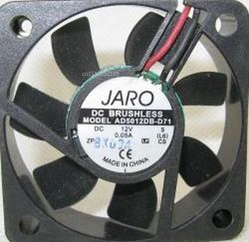 For 5CM 5015 12V 5cm Cooling Fan Dual Ball AD5012DB-D71 Ultra-quiet Free Shipping