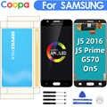 Para Samsung Galaxy J5 Prime G570 G570F On5 2016 G5700 pantalla LCD montaje de digitalizador con pantalla táctil reemplazo de agujero simple/doble
