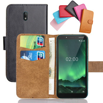 Перейти на Алиэкспресс и купить Чехол для Nokia C1 C2 Tava Tennen X5 X6 X7 7 8, 6 цветов, флип, мягкая кожа, Nokia C1 C2, чехол для телефона, чехлы, кошелек для кредитных карт