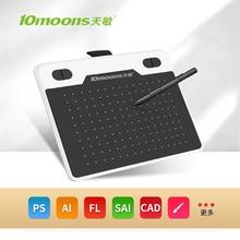 Tavoletta grafica 10 lune T503 tavoletta grafica per tavolo da disegno tavoletta grafica stilo penna Android 6 pollici livello 8192