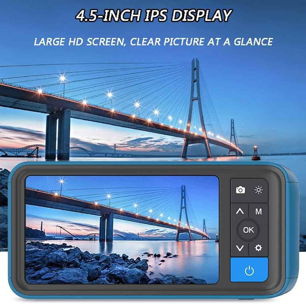 10 m motori di barche e aerei boroscopio per controllo auto Riloer Endoscopio industriale telecamera di ispezione 1080P con schermo LCD da 4,3 pollici collo doca semi-rigido impermeabile