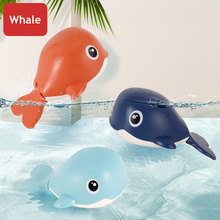 Water-Toys Bath Whale Swimming-Pool Animal Baby Children Chain Cartoon 1pcs Classic