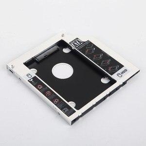 9.5mm 2nd HDD SSD Hard Drive Optical Caddy Frame for Lenovo G500s G505s Ideapad P400 Z500 Z500t Z510 Z510t Ideacenter 700-24ICH(China)