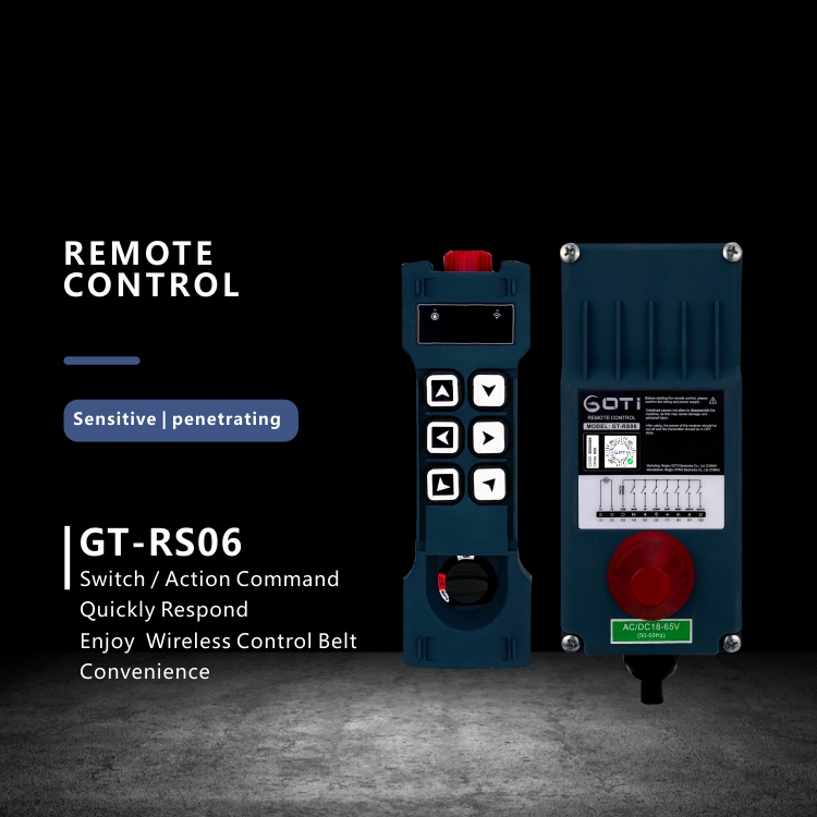 Interruptor de botão de elevação de guindaste