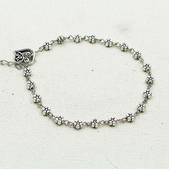 Boho Heart Charm Ankle Chain Beach Anklet Bracelet Barefoot Sandal  Antique Silver Color Jewelry Foot Anklet Bracelet For Women 2