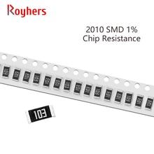 100Pcs 2010 Kit SMD Resistor 1% Tolerância 0R-392R 82R 91R 100R 110R 120R 130R 150R 10 Ohm Componentes Eletrônicos DIY Assorted Set