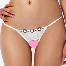 Women Sexy Panty Hot Sale Sexy Thong White Transparent Lace