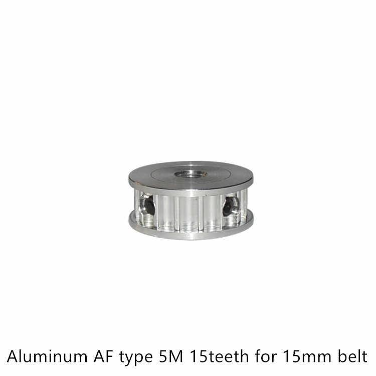AF type 15 dents 5M poulie de distribution alésage 8mm pour HTD 5M largeur de courroie 15mm 16mm utilisé en poulie linéaire 15 dents 15T