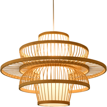 modern beautiful bamboo pendent lights New Design Modern Hanging Lamp Chinese products sold hot pendant lamp hotel lighting