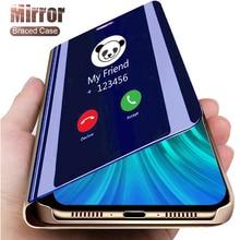smart mirror flip case for pocophone