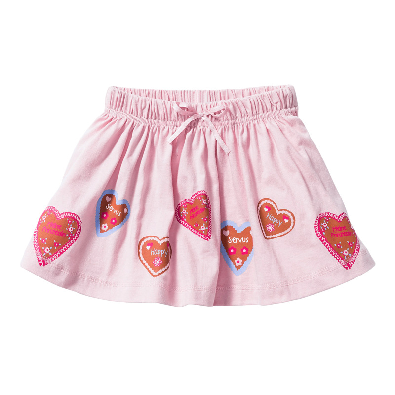 Little Maven Summer Baby Girl Clothes Denim Color Cotton Mini Unicorn Denim Color Lolita School Cute Skirts for Kids 2-7 Years 4