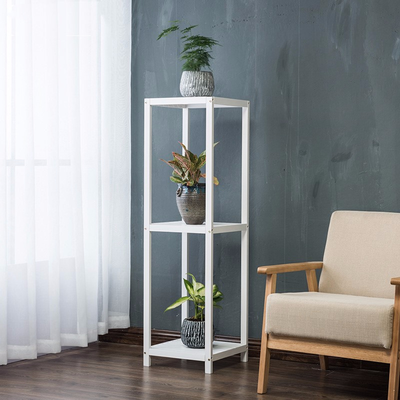 Rack Independent Solid Wood Meaty Flowerpot Frame A Living Room Balcony Green Luo Botany Woodiness Chlorophytum Flower Airs