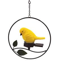 bird shape solar hanging…