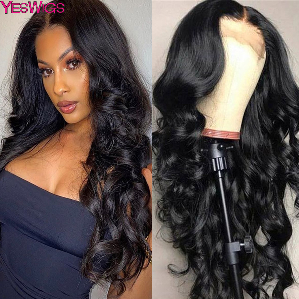 Body Wave Wig Lace Front Human Hair Wigs Lace Closure Wig Full Remy Peruvian 13x6 Transparent HD Lace Frontal Wigs Preplucked