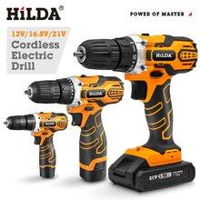 Electric Impact Cordless Drill Screwdriver Mini Wireless Power Driver DC12V 16V 20V Battery 3/8-Inch  Hand Drill Installation