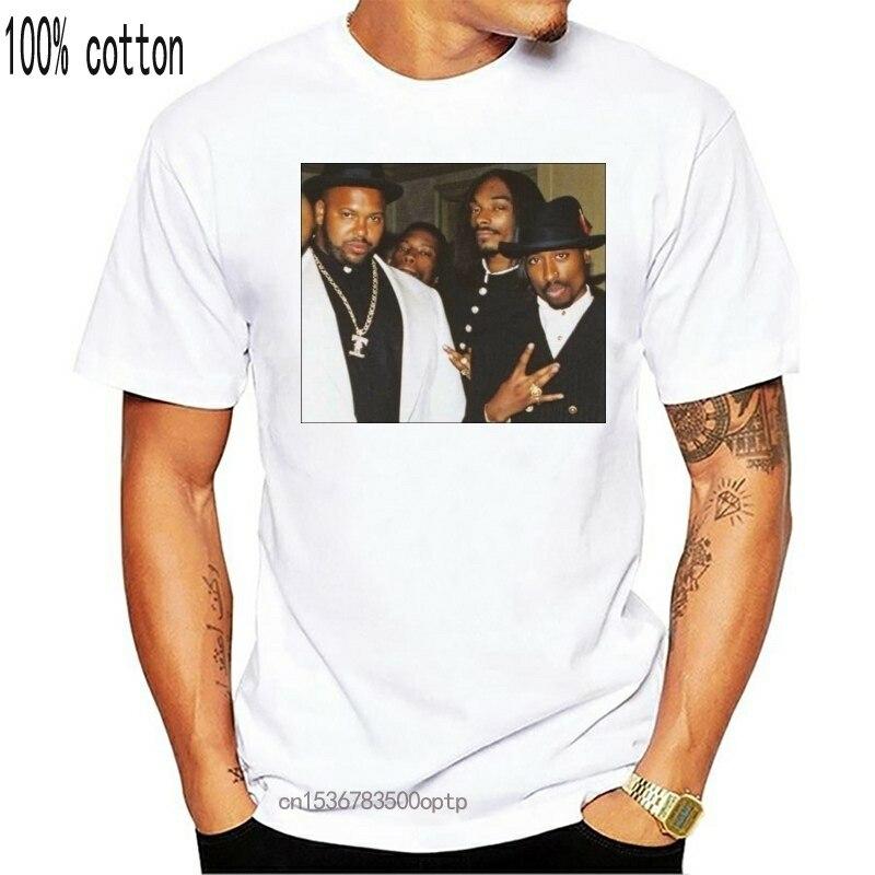 Biggie Smalls T-Shirt Mens The Notorious B.I.G Death Row Tupac Records 2Pac TEE