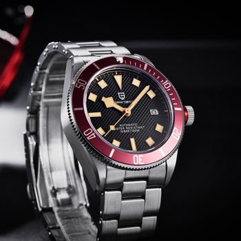 2021 New PAGANI DESIGN BB58 Men's Watches Mechanical Watch For Men Luxury Automatic Watch Men NH35 100M Waterproof Reloj Hombre 5